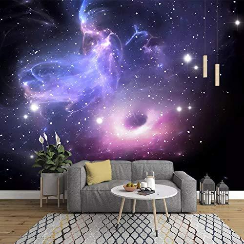 Tapeten Fototapete Benutzerdefinierte Stereoskopischen 3D-Universum Sterne Galaxie Deckengemälde Wandmalerei Für Wohnzimmer Sofa Tv Hintergrund Schlafzimmer Wand Dekoration (-Bh0289)-330Cm(W)×210Cm