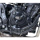 KIT Protection Carter du Moteur R&G Couvre KEC0068BK Yamaha MT-07 / XSR 700 / Tracer 700