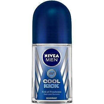 NIVEA Men Roll-On Deodorant, Cool Kick, 50ml