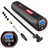 Oasser Air Compressor Mini Portable Tire Inflator Cordless Air Pump For Cars Motorcycles