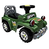 LuvLap Ranger Jeep Car Ride On for Kids, Battery Operated Music & Light