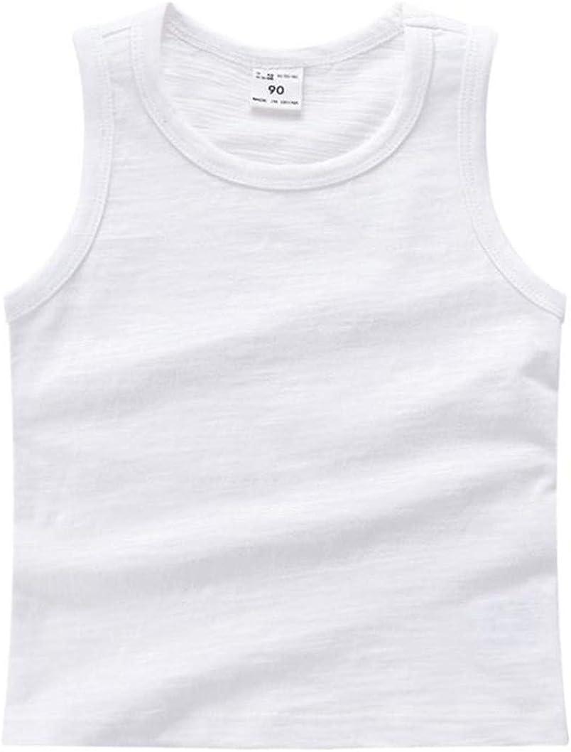 LOOLY Unisex Max 46% OFF Baby Boys Girls Sleeveless Bargain sale Cotton Shirt So Tank Top