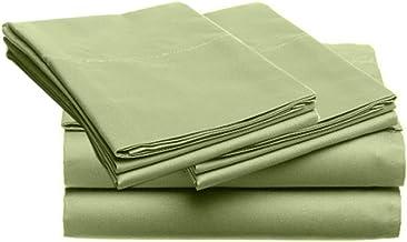 SUPER SOFT Microfiber Loft 21 Collection, FULL 4pc Sheet Set, 1-LOF21S-403, Solid SAGE