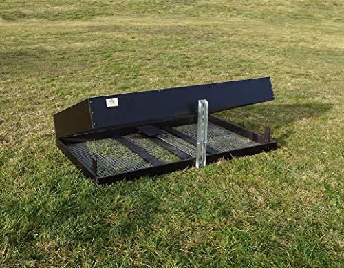 Jagdfallen Steingraf Kofferfalle XXL 180x100x30cm Model 2020 Bausatz Fuchsfalle Waschbärfalle Tierfalle Lebendfalle #117#