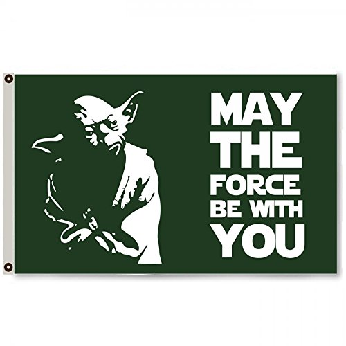 2but May The Force be with You Star Wars Flag Banner 3X5FT