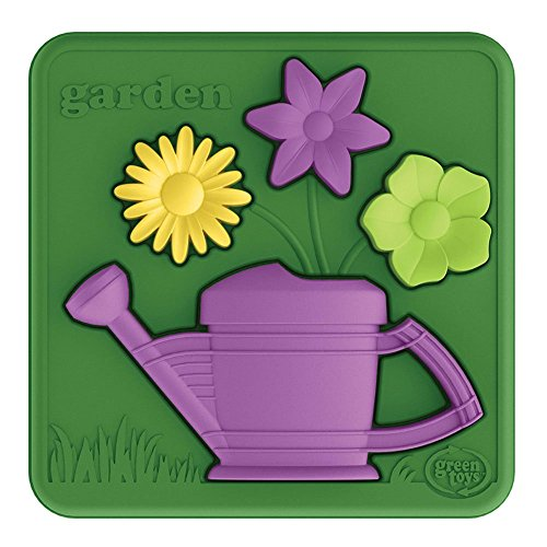 Green Toys pzga-1162 Jardinage Puzzle 3D
