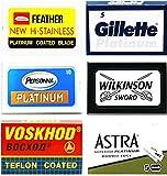 Lames de rasage Feather, Platinum, Personna Platinum, Voskhod, Wilkinson Sword, Astra