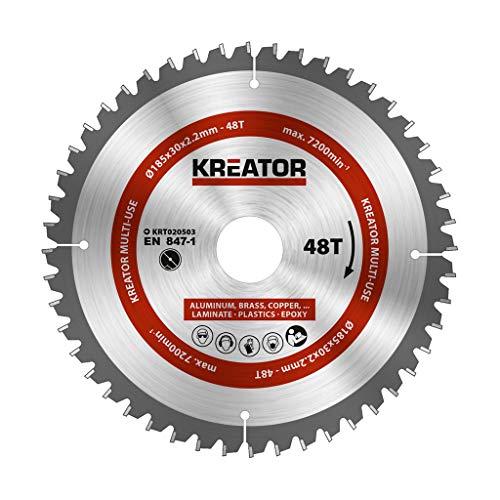 KRT020503 multifunctioneel zaagblad voor cirkelzaag Ø185mm 48 tanden