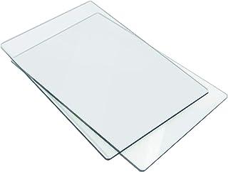 Sizzix 18655093 Tapis de Découpe Standard, Plastique, Transparent, 22,2 x 15,5 x 0,31 cm