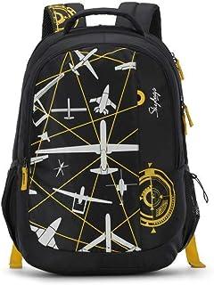 حقيبة ظهر كاجوال أسود من سكاي باجز فيجو 03 32 لتر- (FIGO 03)