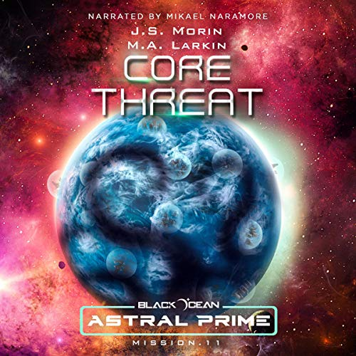 Core Threat: Mission 11 audiobook cover art