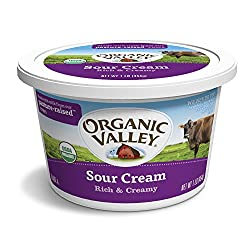 Organic Valley, Organic Sour Cream, 16 oz