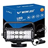WOWLED 36W LED Work Light Magnetic Base Mount Portable LED Light Flood for Car SUV Boat Bar Jeep Driving Lamp...