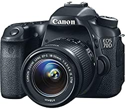 Canon EOS 70D EF-S 18-55mm IS STM Kit (Renewed)