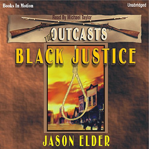 Black Justice audiobook cover art