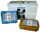 Weicon 10500800 Resina Epoxi, 800g, Masilla de reparación Universal amasable, en Paquete Completo, Verde