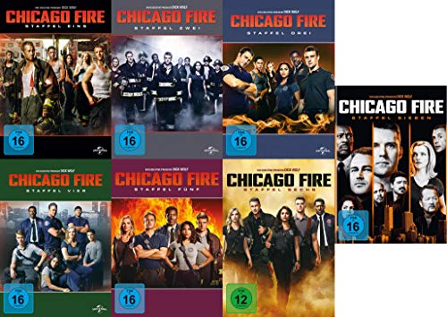 Chicago Fire - Staffel 1-7 (42 DVDs)