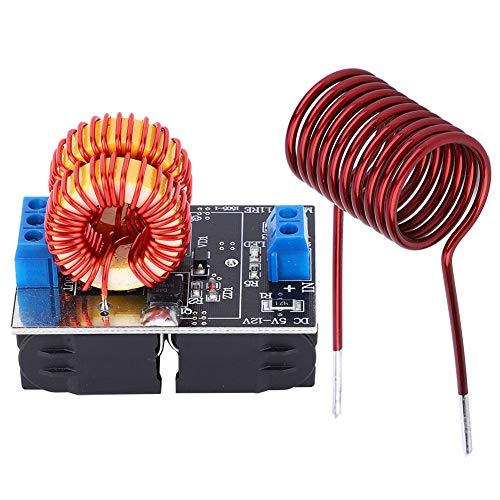 DC5~15V Mini placa de calentamiento Flyback 150W ZVS Bobina de calentamiento sin grifo Módulo de calentamiento inductivo Controlador de bobina Kit de calentador de inducción de encendido