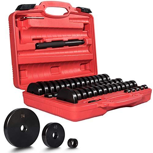 52 PieceBush Bearing and Seal Drive Set, Bearing Bushing Removal Install Tool Kit