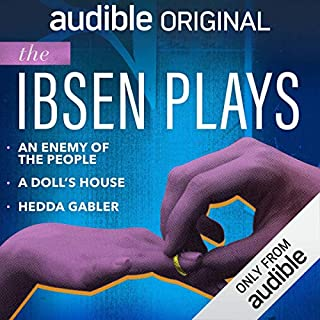 Audible Theatre Collection: Ibsen                   By:                                                                                                                                 Henrik Ibsen                               Narrated by:                                                                                                                                 Owen Teale,                                                                                        Harry Myers,                                                                                        Laura Carmichael,                   and others                 Length: 6 hrs and 40 mins     27 ratings     Overall 4.3