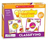 Scholastic Teacher's Friend Classifying Learning Puzzles, Multiple Colors (TF7156)