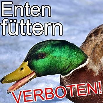 Enten füttern verboten