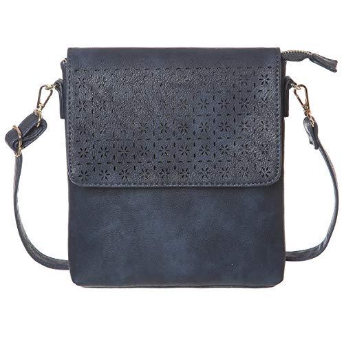 Jonvikki Small Crossbody Bags Travel Purse and Handbags Crossbody Shoulder Bag For Women(Dark Blue)