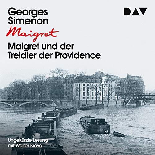 Maigret und der Treidler der Providence Titelbild