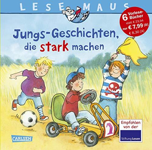 LESEMAUS Sonderbände: Jungs-Geschichten, die stark machen: Sechs Geschichten zum Anschauen und Vorlesen in einem Band