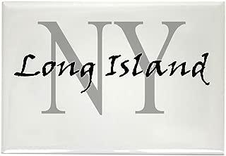 CafePress Long Island Thru NY Rectangle Magnet, 2