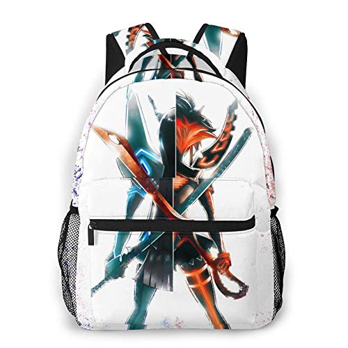 IUBBKI Kill La Kill Don't Lose Your Way Casual Backpack Fashion Leisure Backpack Teenage Print Backpack Cool Bag