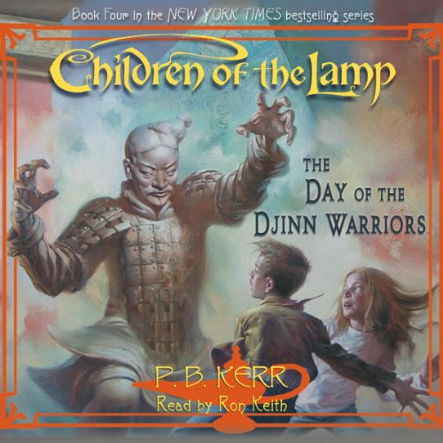 The Day of the Djinn Warriors audiobook cover art