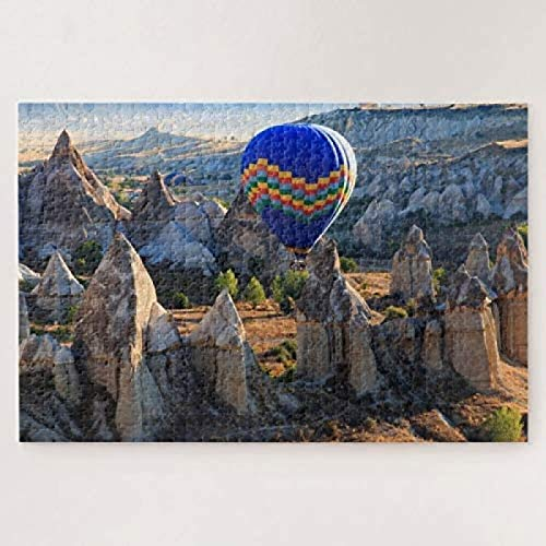 Cappadocia, Goreme Hot air Balloon 500-piece puzzles Advanced Premium printing Challenging Jigsaws Family Game Gifts For Boys To Improve Logical Judgment