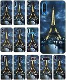 CoverHeld Hülle für Apple iPhone 6 / 6s Handyhülle Design 394 Eifelturm Paris Frankreich aus flexiblem Silikon SchutzHülle Softcase HandyCover Hülle für Apple iPhone 6 / 6s