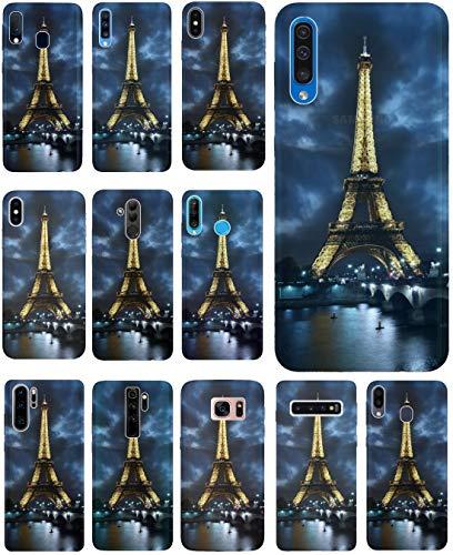 CoverHeld Hülle für Huawei P30 Lite Handyhülle Design 394 Eifelturm Paris Frankreich aus flexiblem Silikon SchutzHülle Softcase HandyCover Hülle für Huawei P30 Lite