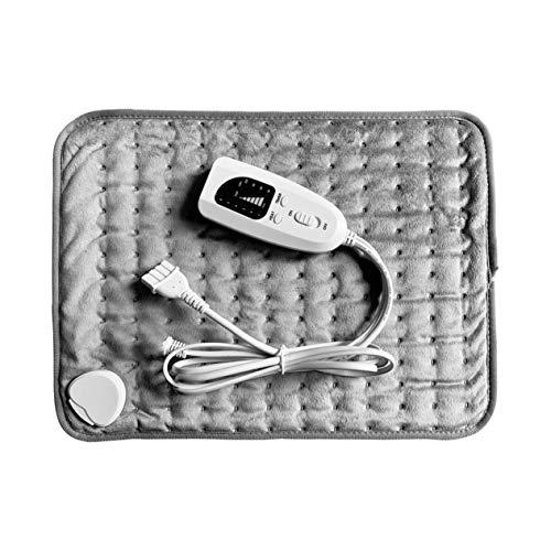 Physiotherapie-Heizkissen Elektrisches Heizkissen Heizkissen Kleines Heizkissen für Heizdecken - Hellgrau - 40x30cm
