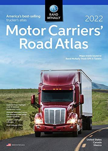2022 Motor Carriers' Road Atlas (Rand McNally Motor Carriers' Road Atlas)