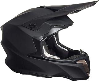 <h2>Crosshelm Motocross Downhill Enduro Helm Integralhelm Motorradhelm RALLOX 806 matt schwarz Größe S</h2>