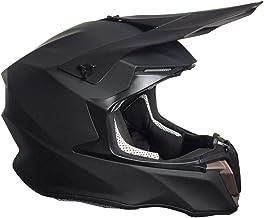 Crosshelm Motocross Downhill Enduro Helm Integralhelm Motorradhelm RALLOX 806 matt schwarz Größe XL