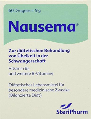 Steripharm Pharmazeutische Produkte Nausema Dragees, 1er Pack (1 x 8 g)