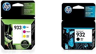 HP 932-933   Ink Cartridge Bundle   Black, Cyan, Magenta, Yellow   CN057AN, CN058AN, CN059AN,CN060AN