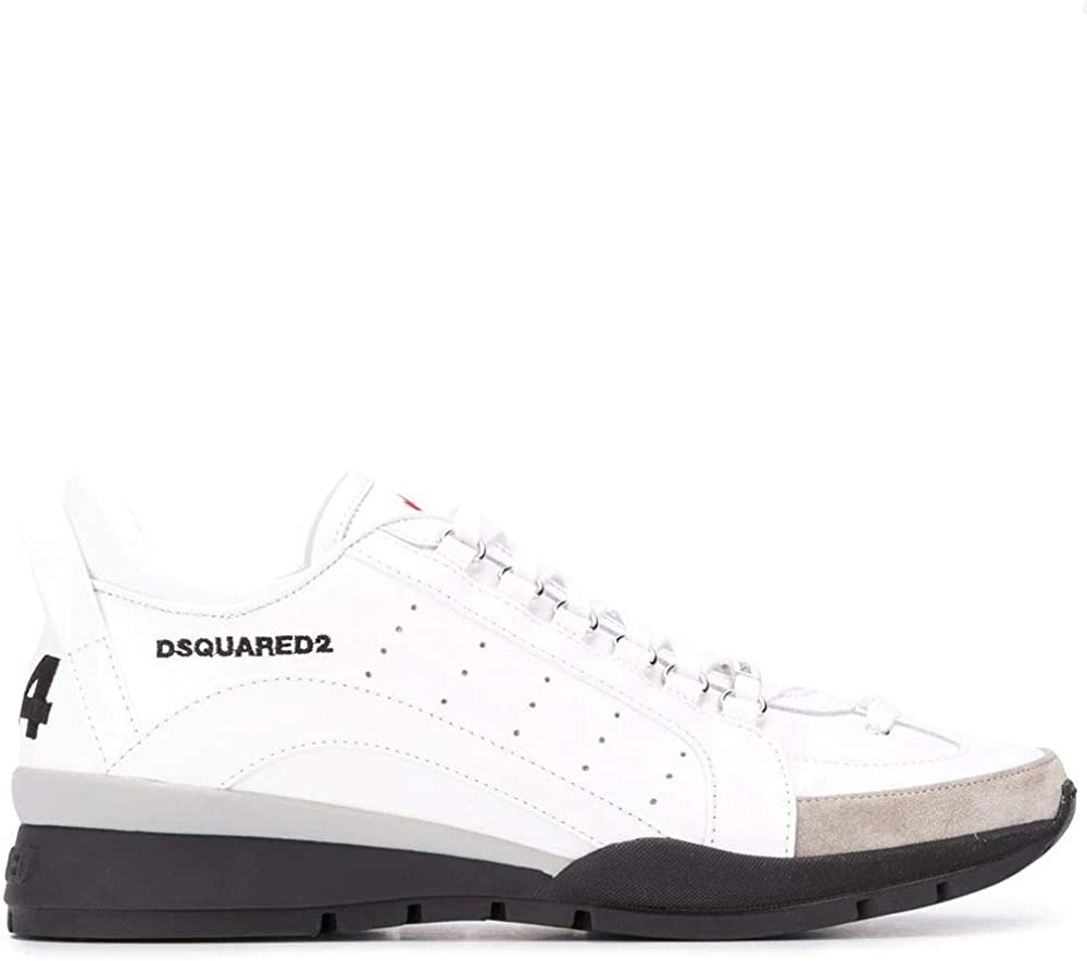 Dsquared2 luxury fashion,sneakers per uomo,scarpe sportive,in pelle SNM0505065B0001M1048