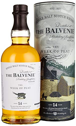 Balvenie The 14 Years Old The WEEK OF PEAT Whisky (1 x 0.7 L)