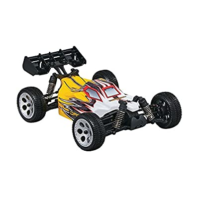Dromida 1:18 Scale RTR Remote Control RC Car: SC4.18 Electric 4WD SC Short Course Truck with 2.4GHz Radio, 7.2V 6C 1300mAh NiMH Rechargeable Battery, 4 x AA Batteries and Charger