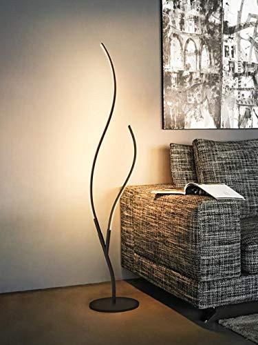 Moderne minimalistische LED vloerlamp vloerlamp Nordic woonkamer LED zwart/wit aluminium vloerlamp decoratie Art Deco 2