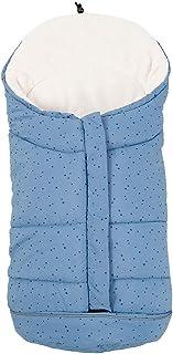 navy Kaiser 6567022 Kinderwagen Fu/ßsack Knitty Knit Design super soft blau