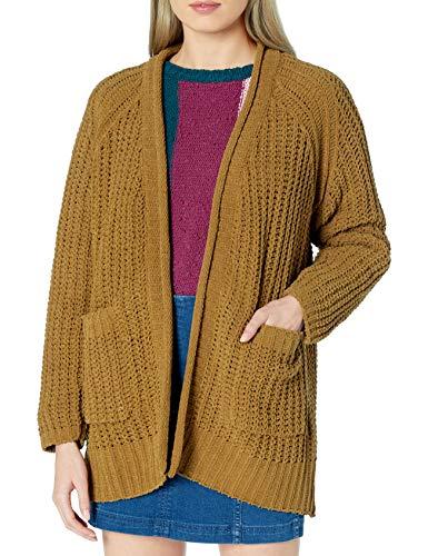 BILLABONG Damen Cardigan Sweater Cardiganpullover, moos, Klein