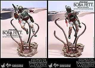 Hot Toys Star Wars Episode VI Return of the Jedi Boba Fett Deluxe Version Sarlacc's Pit 1/6 Scale 12