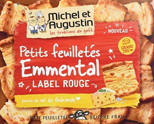 Michel et Augustin Petits Feuilletés Emmental Grand Cru Sel de Guérande