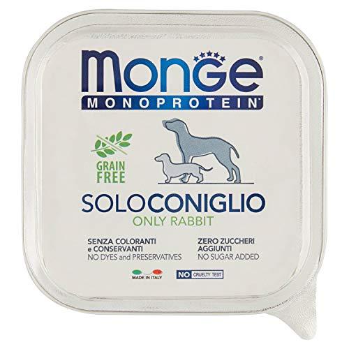 Monge Cane Solo Coniglio Gr 150